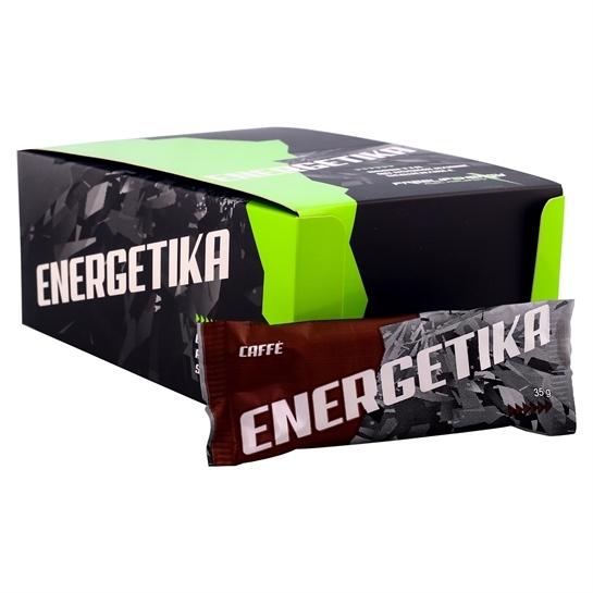 Barretta energetica monodose al gusto caffè in confezione da 20 pezzi