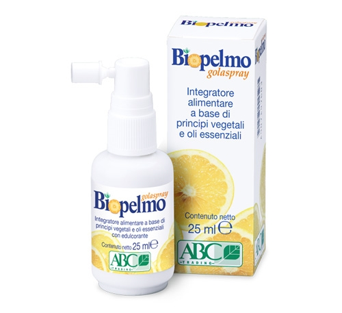 Biopelmo Gola Spray