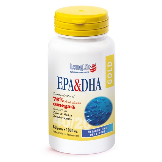 EPA & DHA Gold - 60 perle