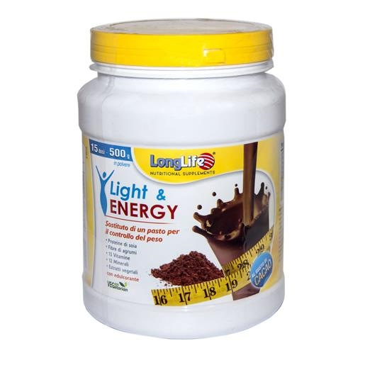 Light & Energy cacao 500 gr. (15 porzioni)