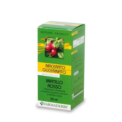 Mirtillo Rosso Macerato Glicerinato 50 ml