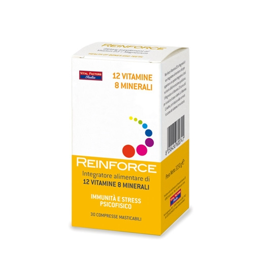 Reinforce 12 vitamine 8 minerali 30 compresse