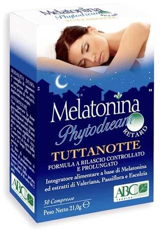 Melatonina Phytodream TUTTANOTTE - 30 compresse